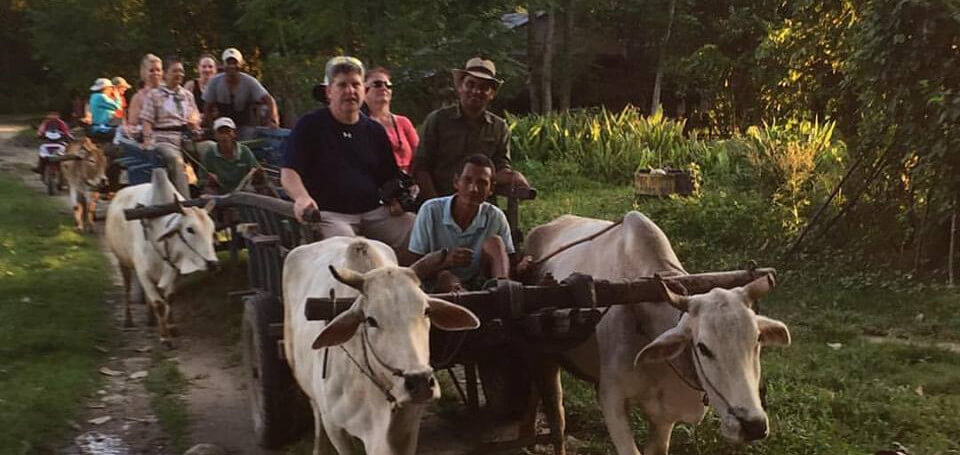 Ox cart village tour